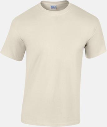 Natur (herr) Fina bomulls t-shirts för herr, dam & barn med reklamtryck