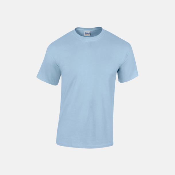 Ljusblå (herr) Fina bomulls t-shirts för herr, dam & barn med reklamtryck