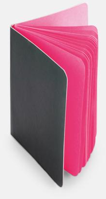 Fuchsia Block med färgade sidor - med reklamtryck