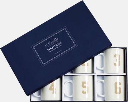 Polo muggar (6-pack) Presentkort över Newports sortiment!
