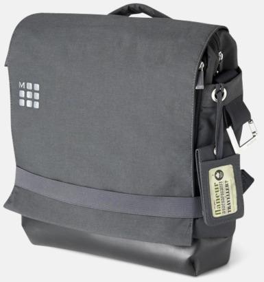 Grå Laptopryggsäckar från Moleskine med reklamtryck