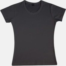 Neutrala herr- & dam t-shirts med reklamtryck