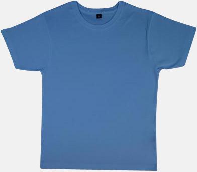 Light Denim Neutrala herr- & dam t-shirts med reklamtryck