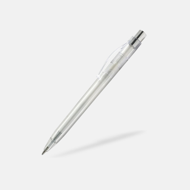 Transparent Transparenta pennor med reklamtryck