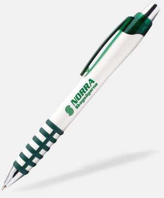 Grön Unika pennor med reklamtryck