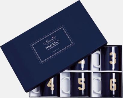 Blå Porslinskoppar i 6-pack från Newport