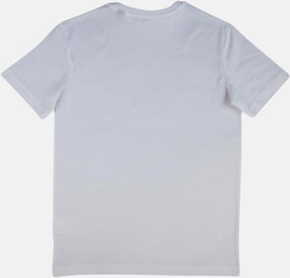 Herr- & dam t-shirts i eko bomull med reklamtryck