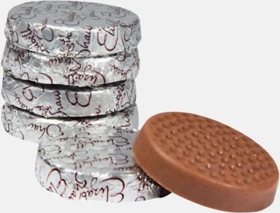 Ljus mjölkchoklad Mint Crisp från Elizabeth Shaw - med reklamtryck