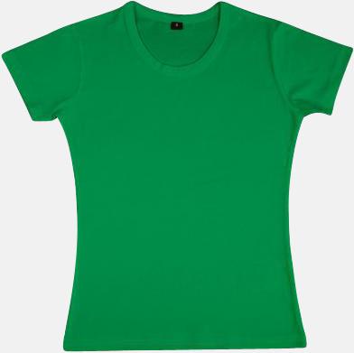 Kelly Green Neutrala herr- & dam t-shirts med reklamtryck
