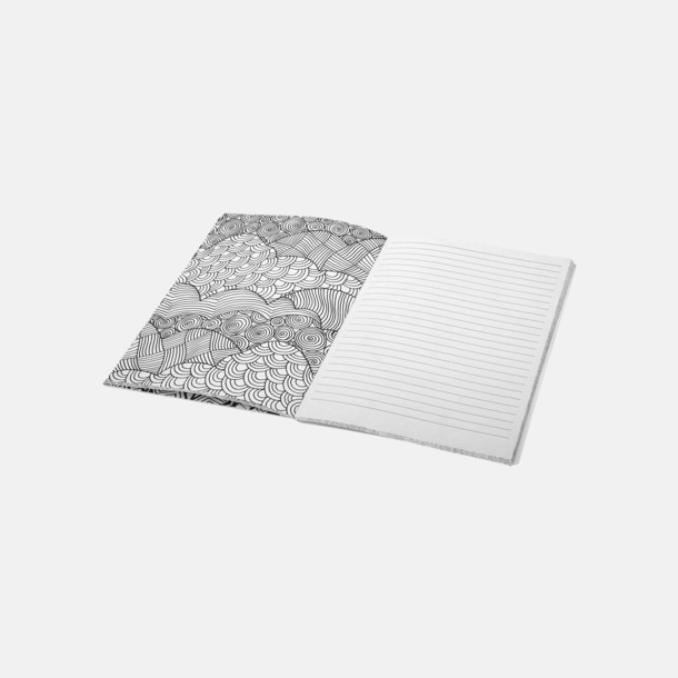 A5-böcker för färgläggning, skisser och anteckningar