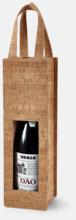 Unika flaskpåsar i kork med reklamtryck