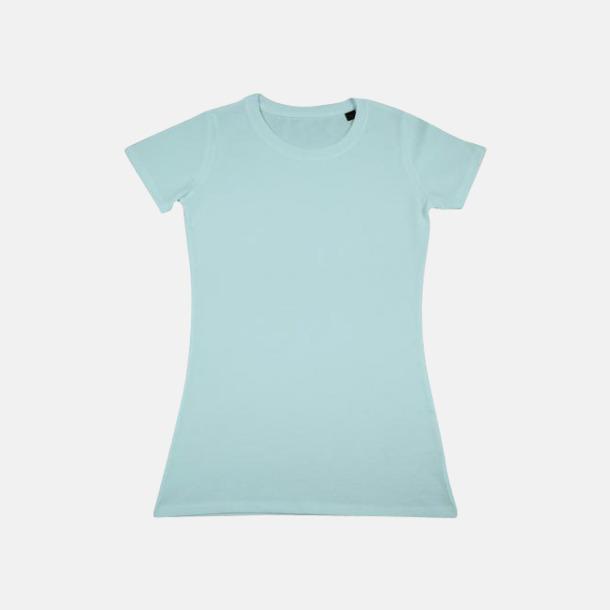 Mint Herr- & dam t-shirts i eko bomull med reklamtryck