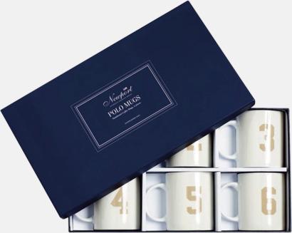 Ivory Porslinskoppar i 6-pack från Newport