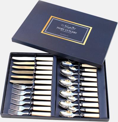 Ivory bestickset (24-delar) Presentkort över Newports sortiment!