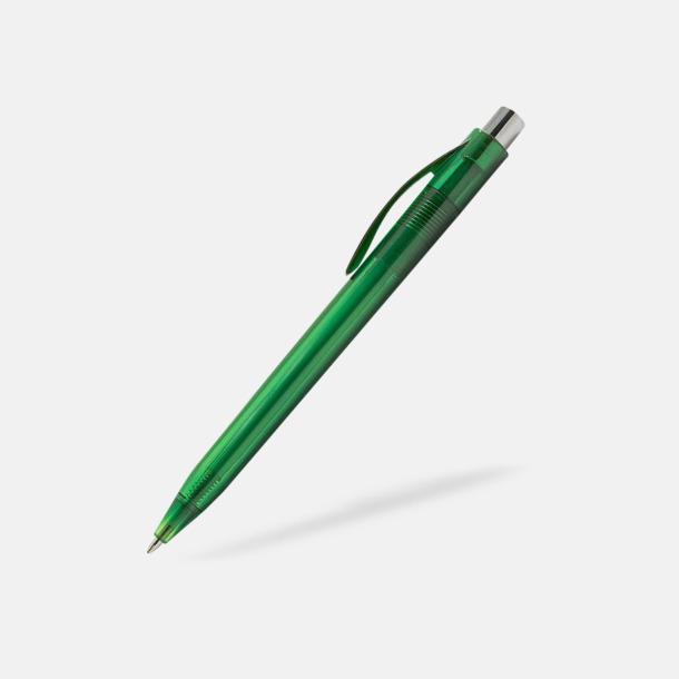 Grön Transparenta pennor med reklamtryck
