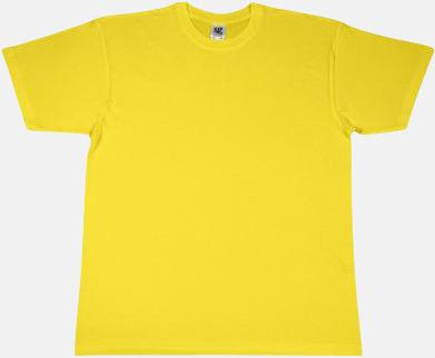 Gul Fina t-shirts i många färger till låga priser med reklamtryck