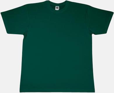 Bottle Green Fina t-shirts i många färger till låga priser med reklamtryck