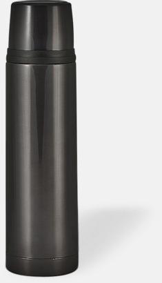 Svart (bright) 50 cl termosflaskor med reklamtryck