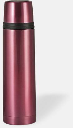 Rosa (bright) 50 cl termosflaskor med reklamtryck