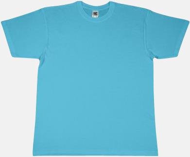Turkos Fina t-shirts i många färger till låga priser med reklamtryck