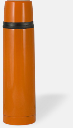 Orange (blank) 50 cl termosflaskor med reklamtryck