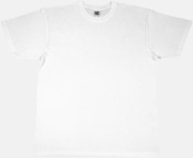 Vit Fina t-shirts i många färger till låga priser med reklamtryck