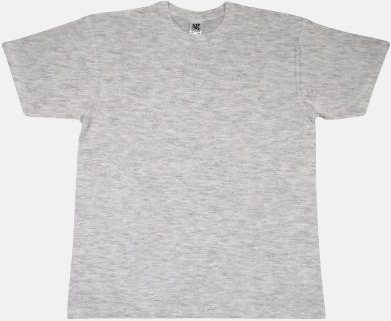 Ash Grey Fina t-shirts i många färger till låga priser med reklamtryck