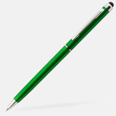 Grön Tunna sylus- & bläckpennor med reklamlogga
