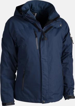 Marinblå Polyjacket 3 in 1 med eget reklamtryck eller brodyr