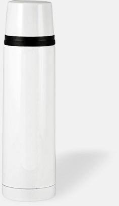 Vit (blank) 50 cl termosflaskor med reklamtryck