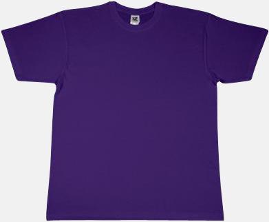 Lila Fina t-shirts i många färger till låga priser med reklamtryck