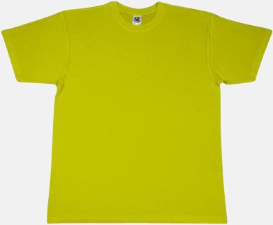 Lime Fina t-shirts i många färger till låga priser med reklamtryck