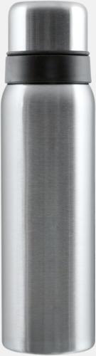 Borstad silver 1 liter termos från Vildmark