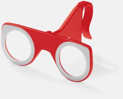 Röd Färgglada VR-glasögon med reklamtryck