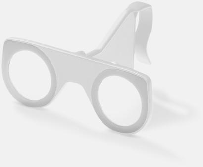Vit Färgglada VR-glasögon med reklamtryck