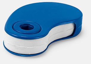 Blå Radergummin i fodral med reklamtryck