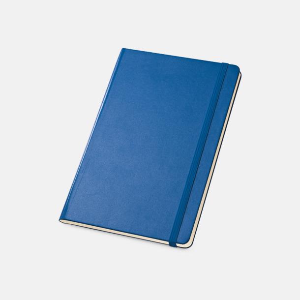 Mörkblå Anteckningsböcker med linjerade sidor - med reklamtryck