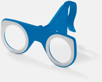 Blå Färgglada VR-glasögon med reklamtryck