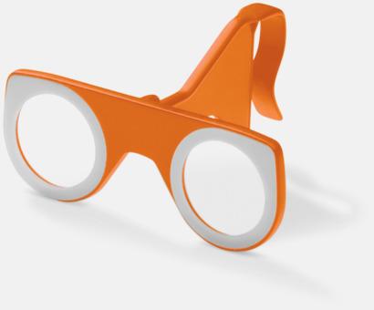 Orange Färgglada VR-glasögon med reklamtryck