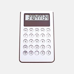 Miniräknare med reklamtryck