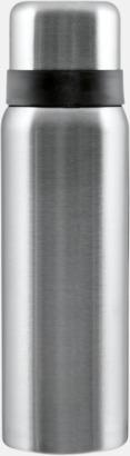 Borstad Silver Billiga termosar med gravyr