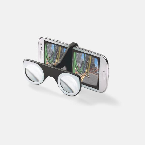Färgglada VR-glasögon med reklamtryck