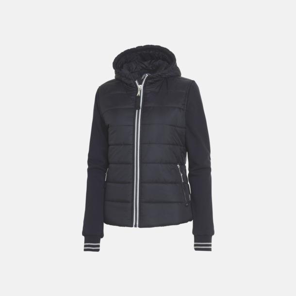 Marinblå (dam) Sportiga täckjackor för herr & dam - med reklamtryck