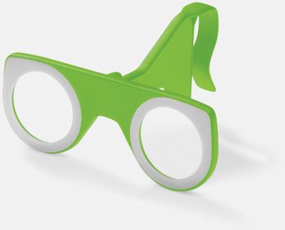 Grön Färgglada VR-glasögon med reklamtryck