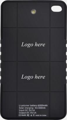 Placering av logo: Baksida