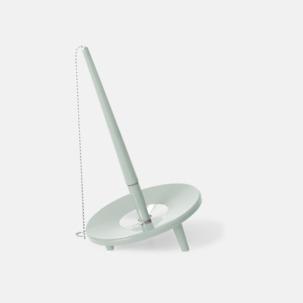 Retro kulspetspenna med ställ med eget tryck