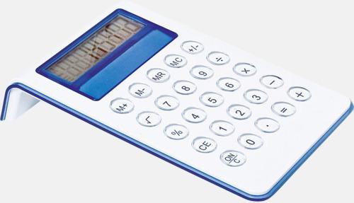 Blå Miniräknare med reklamtryck