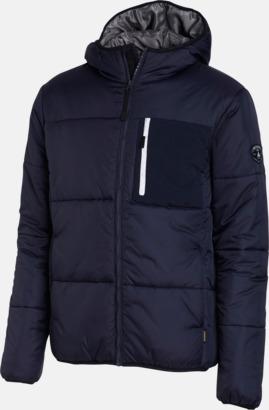 Marinblå (herr) Täckjackor för herr & dam - med reklamtryck
