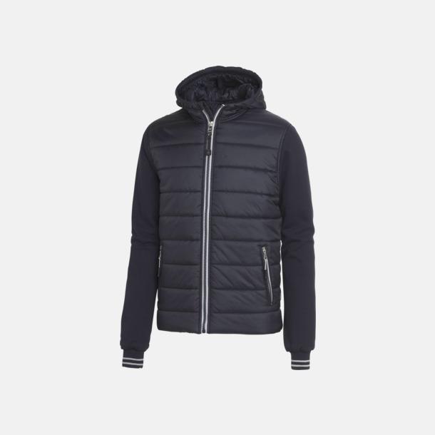 Marinblå (herr) Sportiga täckjackor för herr & dam - med reklamtryck