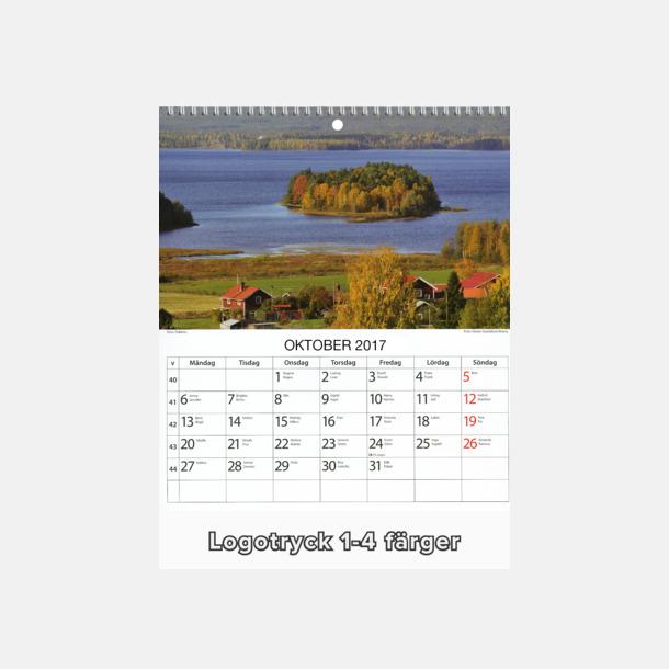 Sverigekalender - Vackra bilder av svensk idyll med egen logga längst ner